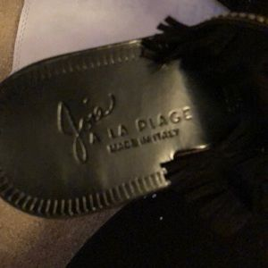 Joie Shoes - Joie La Plage fringe sandals made Italy.Worn once!